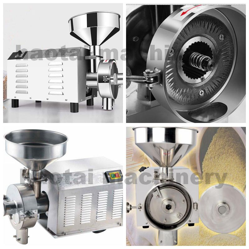 Grain grinding machine